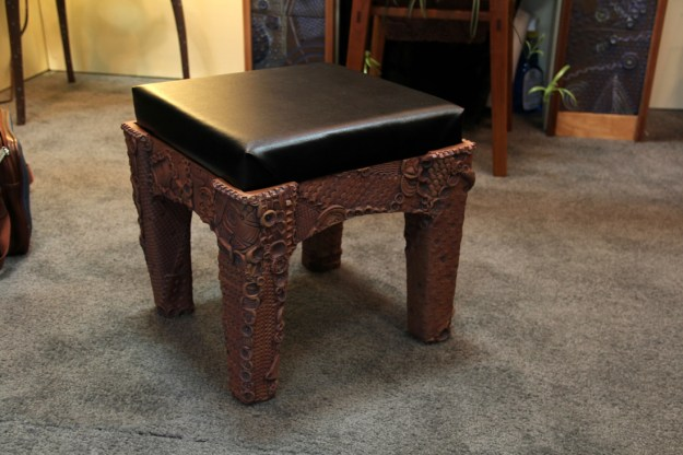 Larry Elardo Foot Stool