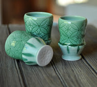 Lucy Fagella Green Cups
