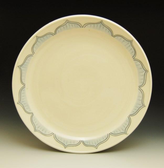 Julie Wiggins Blue Platter