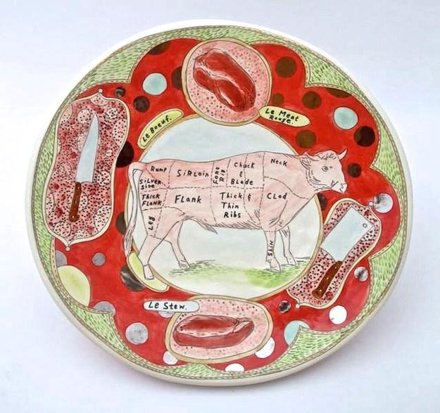 Mariko Paterson Giant meat platter
