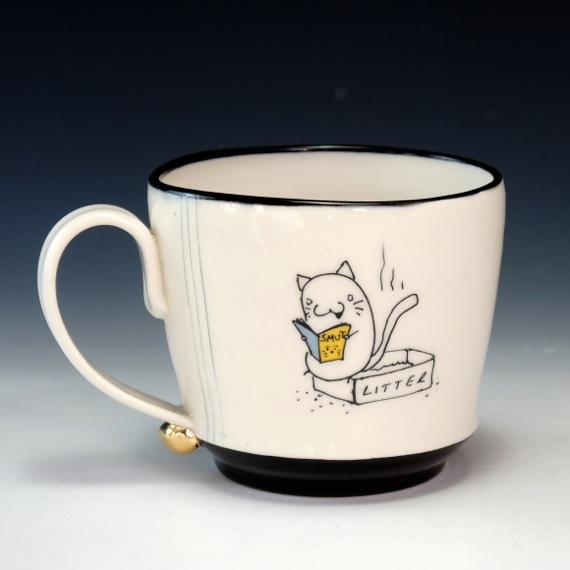 Rob Kolhouse Kitty Porn Mug