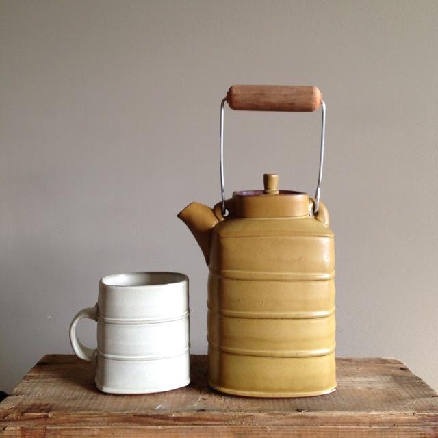 Sarah Pike Cup and Pot
