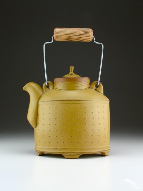 Sarah Pike Gold Teapot