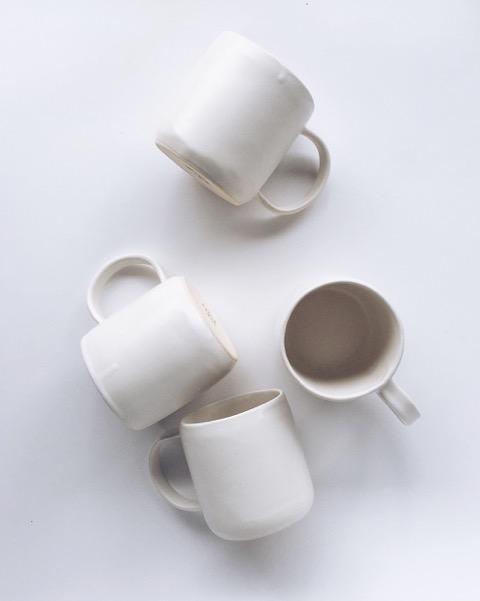 Anna Eaves White Cups
