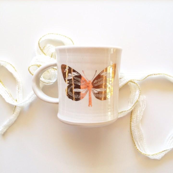 Melina LaVecchia Gold Butterfly