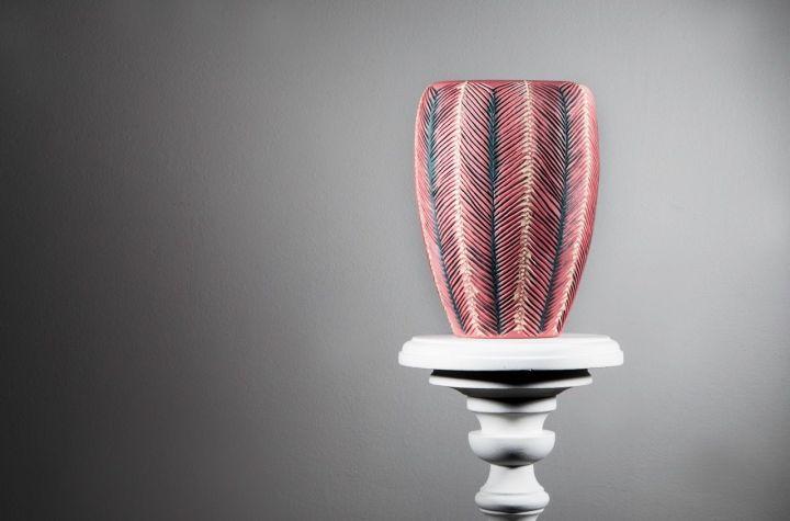 Sarah O'Sullivan Red Vase