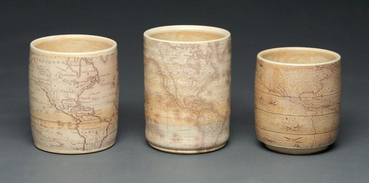 Brandon Schwartz Map Cups