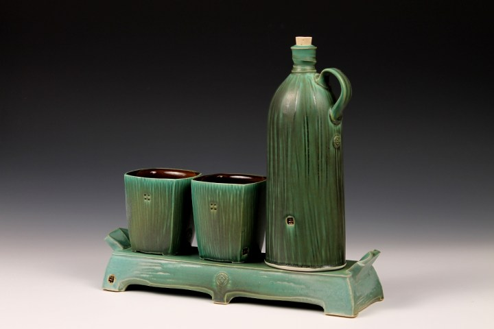 Nick DeVries Dark Green Whiskey Set