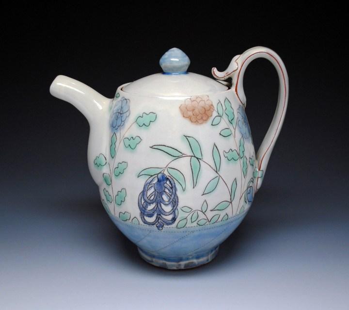 Ben Carter 3 Garden Teapot