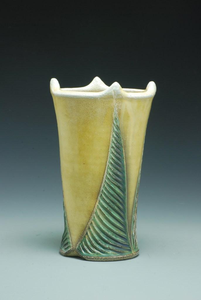 Joy Tanner Carved Vase