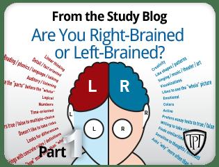 tpt - right or left brain