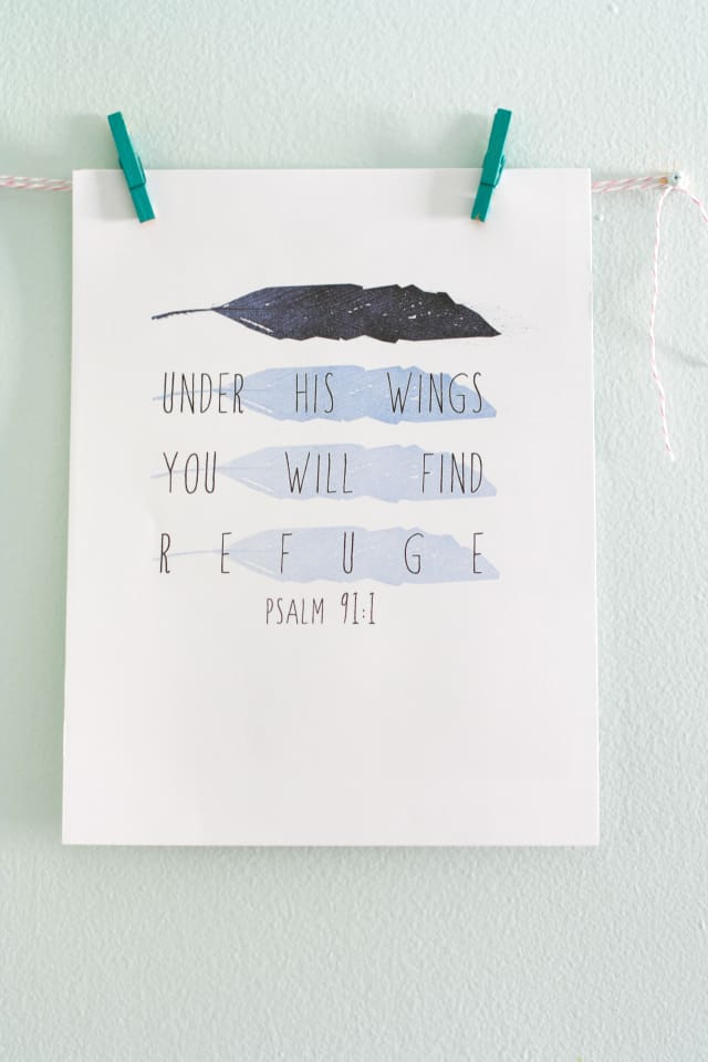 Psalms printable