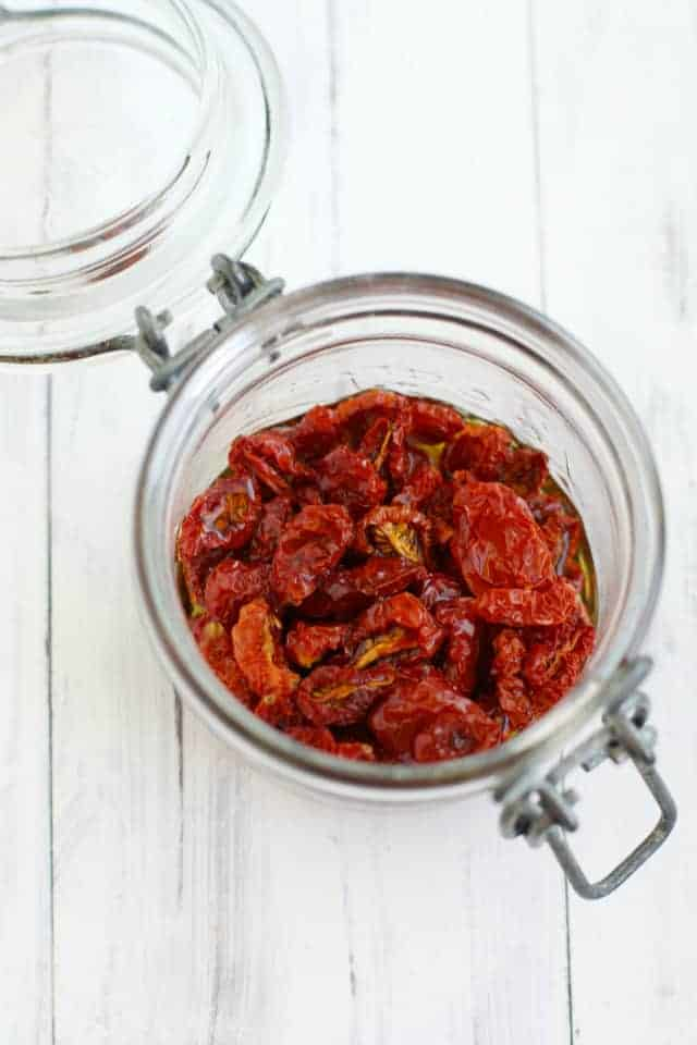 How To Make Oven-Dried Tomatoes.