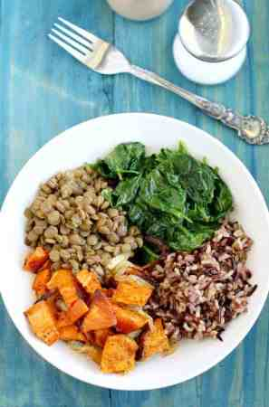A healthy, filling meal that is full of superfoods! #vegan #glutenfree