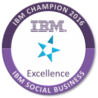 IBM Champion 2016 for Social Business