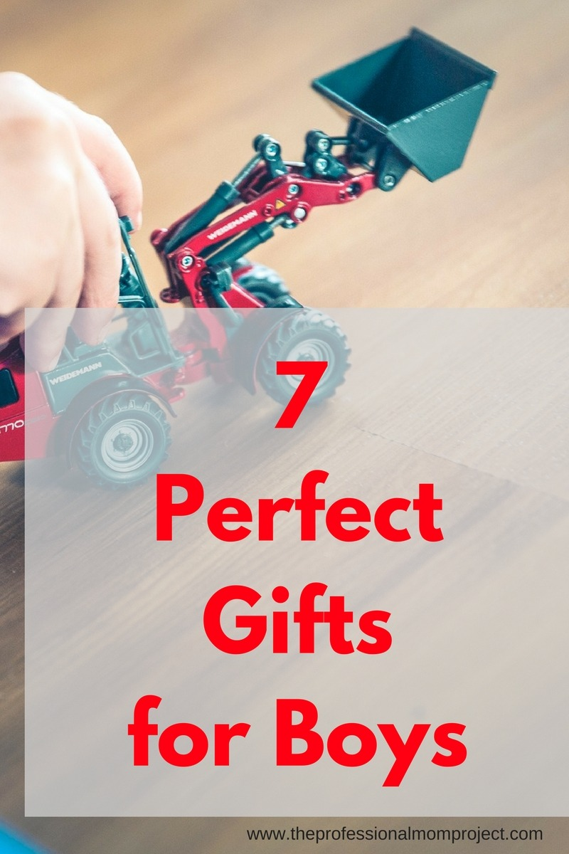 Finding the right present for a little boy can be challenging. Here are 7 of our favourite gifts for boys that are sure to please.