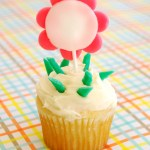 DIY Airheads Cupcake Toppers