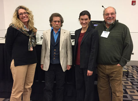 Historians Kelly Emick, John Carson, Annessa Stagner and Paul Hutton
