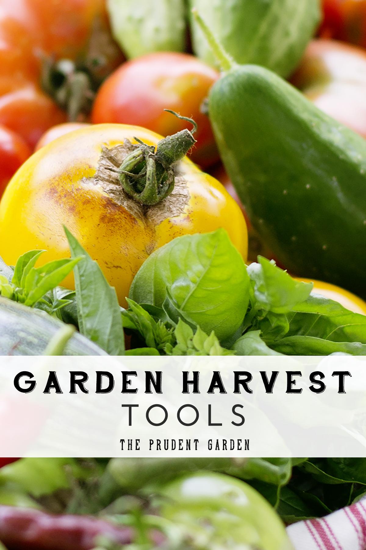 Garden Harvest Tools