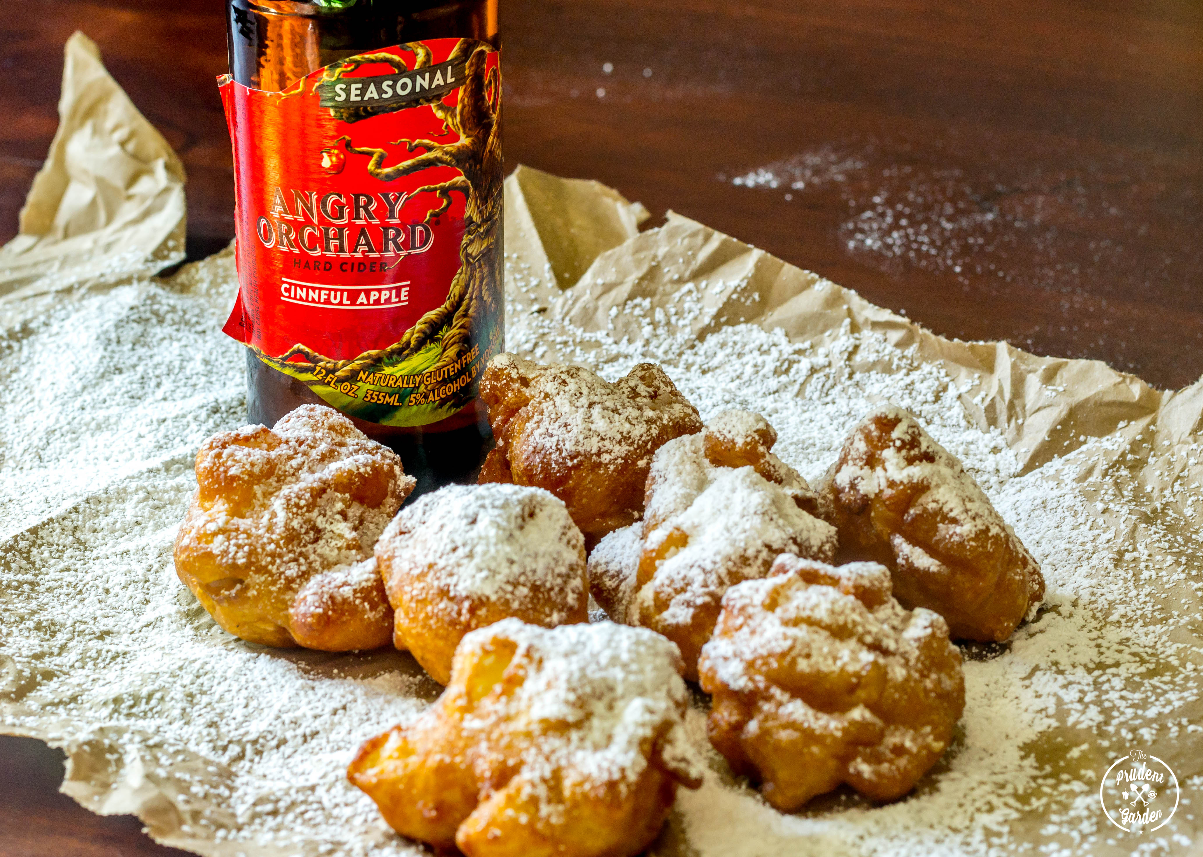 Hard Cider Apple Fritters