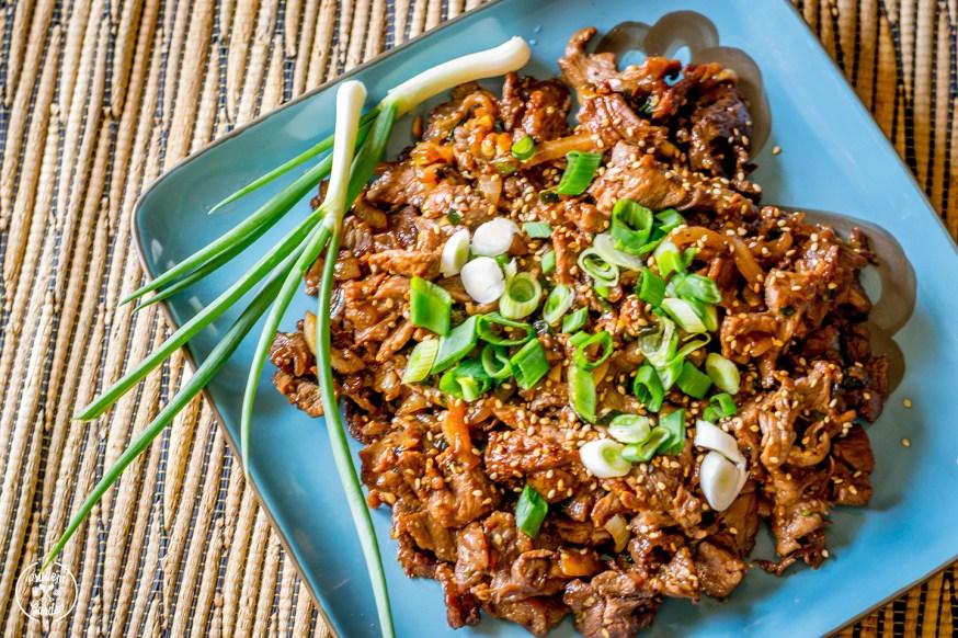 Korean BBQ: Bulgogi
