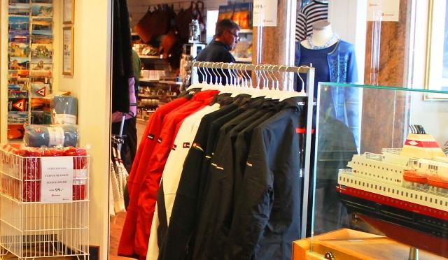 'Richard With' Hurtigruten shop