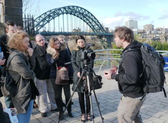 Greg Brand Video session Newcastle Gateshead Traverse