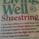 Living Well on a Shoestring-ish