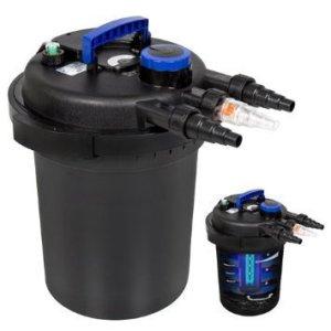 Best Choice Products 4000 gal Pressure Bio Filter with Uv Sterilizer Light Koi, 13W