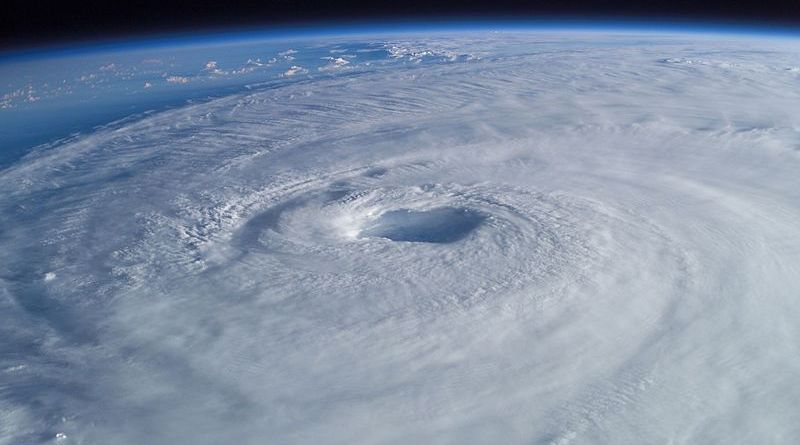 how are drones used after a hurricane