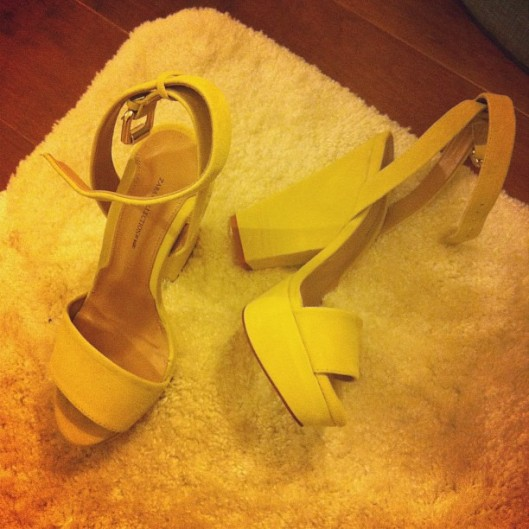 Zara Yellow Shoes, Instastyle, #instastyle, instafashion, instagram fashion, Hawaii Street Style