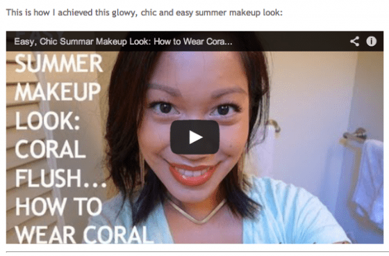 thereafterish, thereafterish featured in, thereafterish featured, glowy summer look, frikken duckie