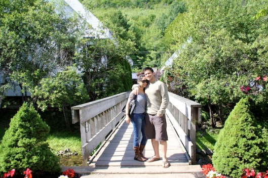 Cape Breton, Glenora Distillery, Filipino Couple