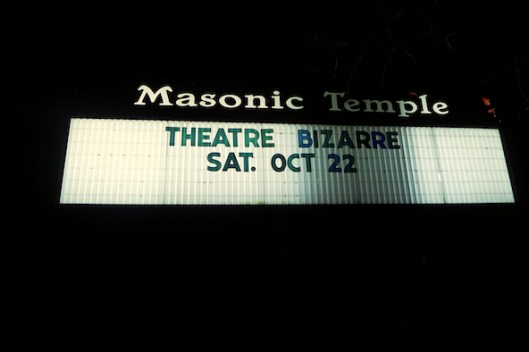Theatre Bizarre, Detroit Halloween, Detroit Masonic Temple
