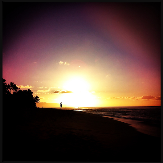 Jan Photo a Day, Instagram, Hawaii Sunset, Sunset Beach, Oahu Living