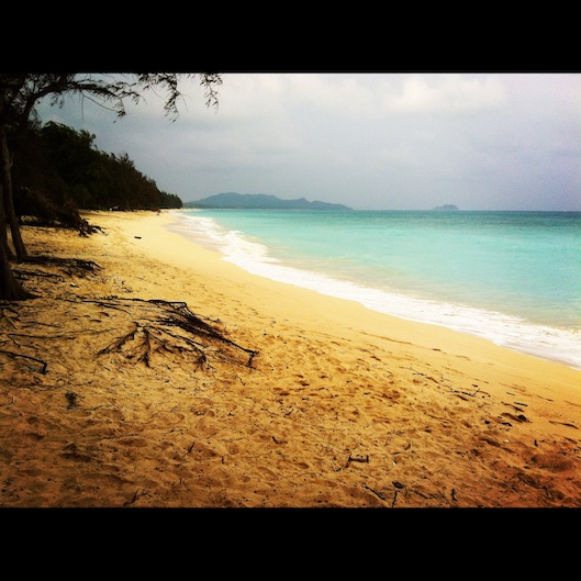 #janphotoaday, january photo a day, waimanalo beach park