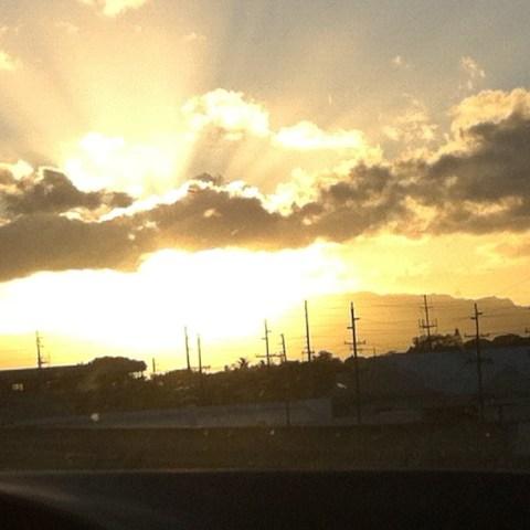 thereafterish., insta-travel, honolulu sunsets, hawaii sunsets, hawaii travel