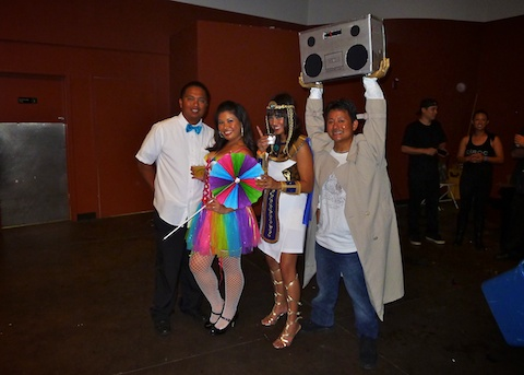 thereafterish, Aloha Tower Halloween Party, Stereoman, Cleopatra Costume