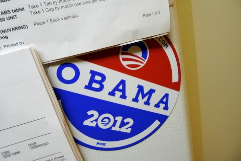 thereafterish, ootd, obama 2012 bumper sticker