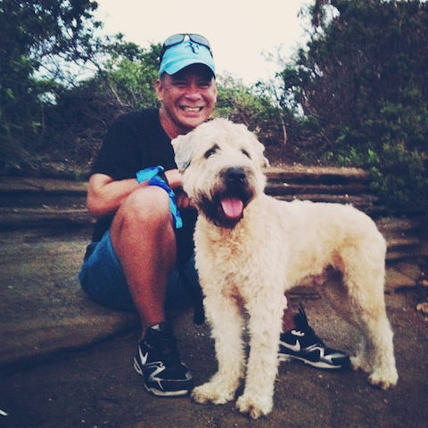 hawaii life, living in hawaii, thereafterish, things to see in Hawaii, Sunset chasing, China Walls, Wheaten Terrier