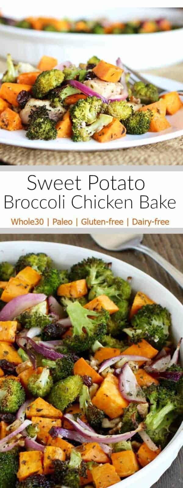 Chicken sweet potato broccoli recipe