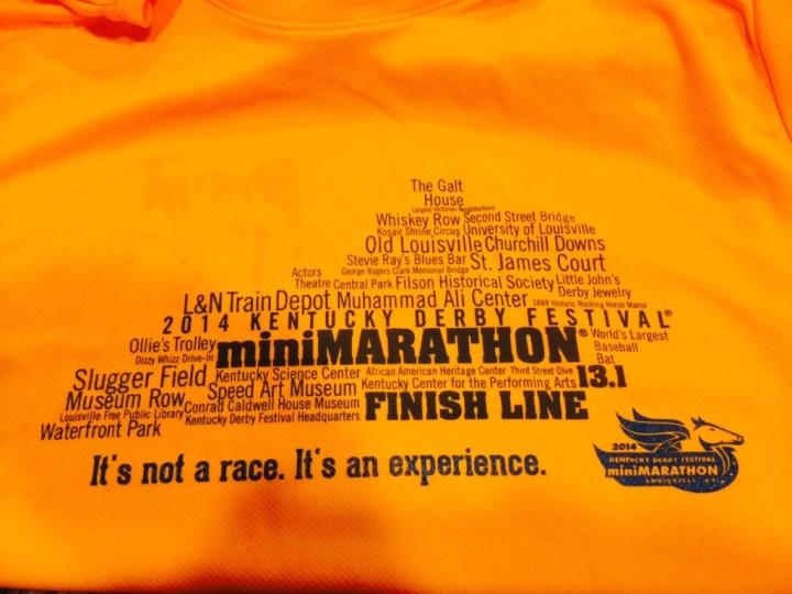 2014 KDF miniMarathon Tech Shirts
