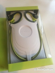 Plantronics BackBeatFit in box