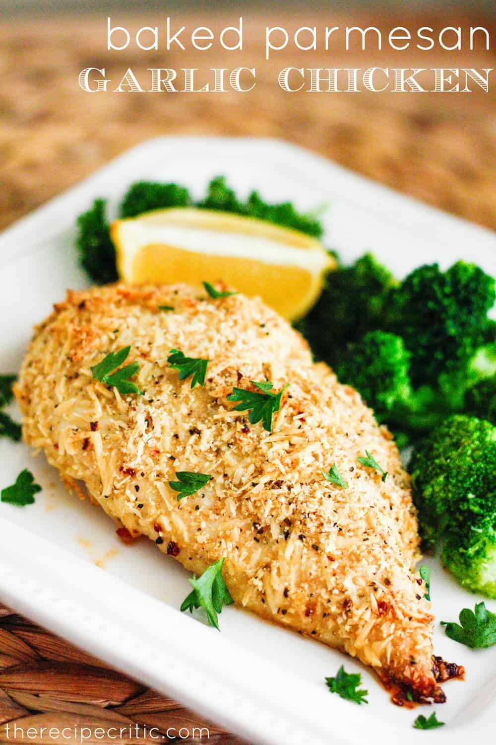Masterly So A Easy Meal That Everyone Baked Parmesan Garlic Ken Recipe Critic Kenwas Full I Loved How Parmesan Cheese Gave It A Delicious Crust Flavor nice food Baked Parmesan Crusted Chicken