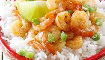 Coconut Honey Lime Shrimp with Sriracha Mango Dip The Recipe Critic