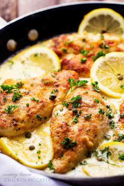Creamy Lemon Chicken Piccata | The Recipe Critic