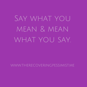 Stand Your Ground--Don't allow your fear of what others think keep you silent.|www.therecoveringpessimist.me