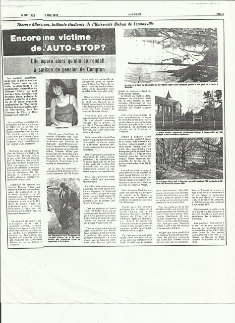 Allore artile french may 6 1979
