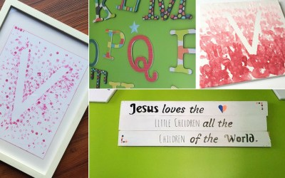 4 Must-Try Kids Room DIY Crafts - Found on www.theresasreviews.com - Photo credit: twitchetts.com