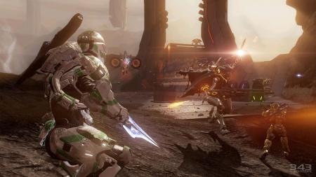 Halo 4 Spartan Ops Multiplayer Screenshot